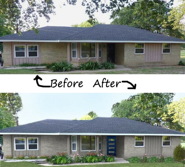 Exterior Paint Ideas For Older Homes: - The Land Of Color