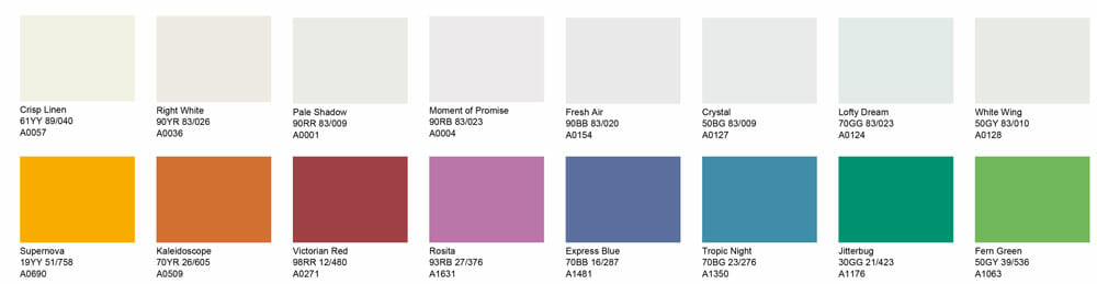 TMP-colors