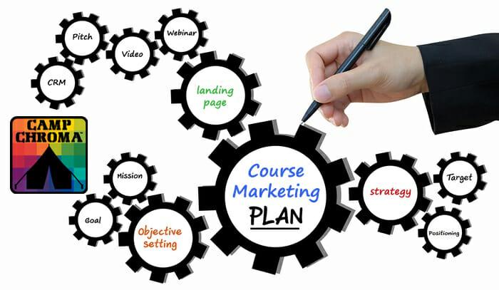 camp chroma course marketing