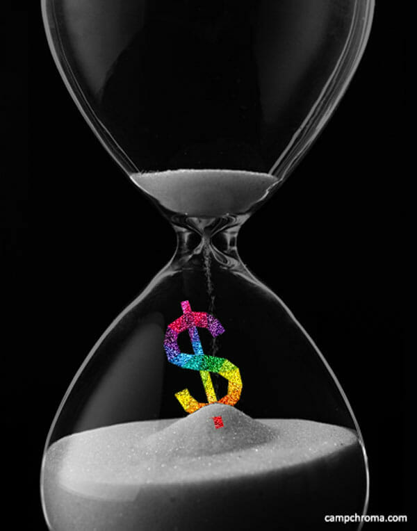 Time-is-money-hour-glass