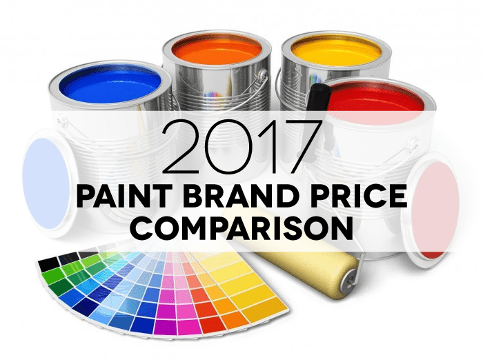 {new blog post} This list is the best of the best paint brands. Link in profile. You will find the important details that matter most listed below, price per gallon, price per square foot, and coverage/spread rate. All of them neatly organized from least expensive per square foot to the most expensive per square foot.