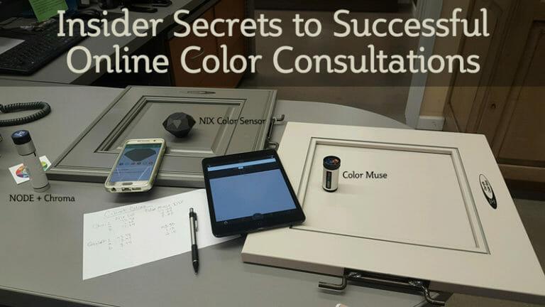 Measuring-cabinet-colors-online-color-consultations