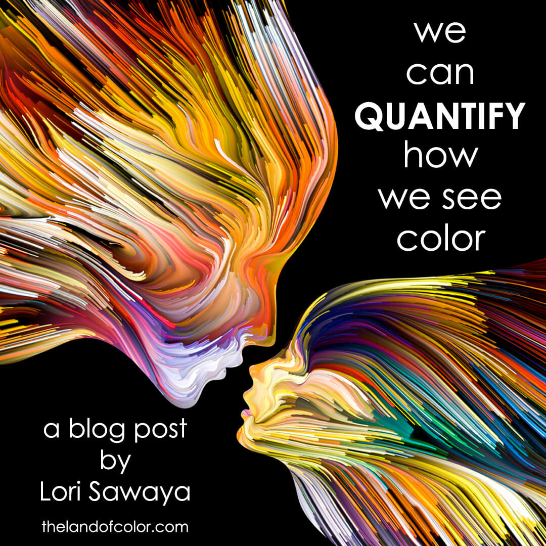 How do you quantify color