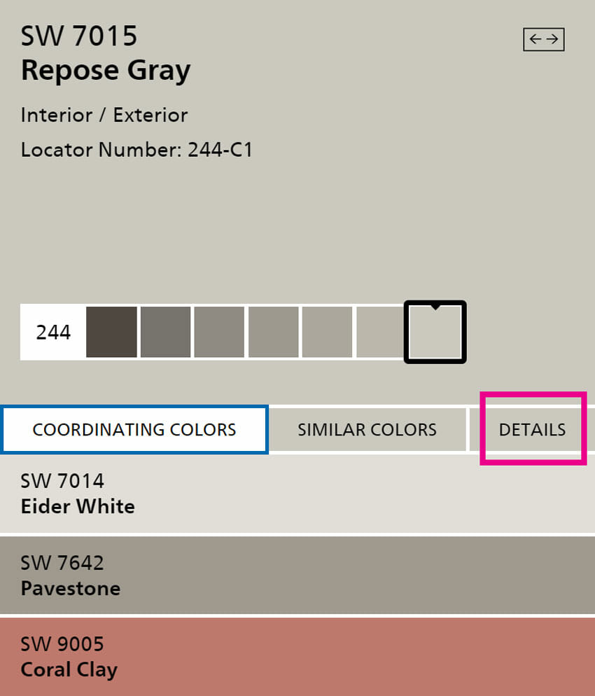 Sherwin Williams Repose-Gray