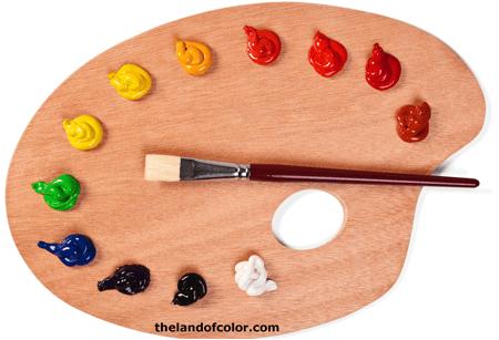 double-primary-paint-palette